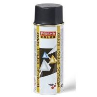 Spray Prisma Color, negru, metalizat